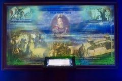 Moskwa, Rosja, muzealny ` Rosja - Mój historii ` zdjęcia stock