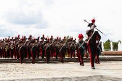 Moskwa, Rosja, Poklonnaya wzgórze, Sierpień 27, 2017 - Carabinier Obrazy Royalty Free