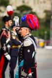 Moskwa, Rosja, Poklonnaya wzgórze, Sierpień 27, 2017 - Carabinier Zdjęcie Stock