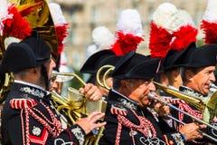 Moskwa, Rosja, Poklonnaya wzgórze, Sierpień 27, 2017 - Carabinier Fotografia Royalty Free