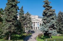 MOSKWA, ROSJA - 21 09 2015 Pushkin muzeum sztuki piękna Obraz Stock
