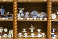 11 02 2017, Moskwa, Rosja, sklep w muzeum Zdjęcie Royalty Free