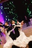 Moskwa, Rosja 3th 2017 Grudzień, tanczyć mężczyzna i wo, Obraz Stock
