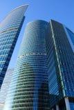 MOSKWA ROSJA, Wrzesień, - 24, 2017 Moskwa centrum biznesu ` Moskwa miasta Międzynarodowy ` Zdjęcia Royalty Free