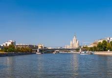 Moskwa rzeka Zdjęcia Stock
