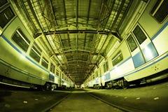 Moskwa ` s metro w ` Izmailovo ` zajezdni Czerwiec 09, 2017 moscow Rosja Zdjęcie Stock