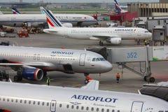 Moskwa Sheremetyevo lotnisko zdjęcia royalty free