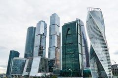MOSKWA, SIERPIEŃ - 21, 2016: Moskwa miasta linia horyzontu na Sierpień 21, 2016 w Moskwa, Rosja Obrazy Stock