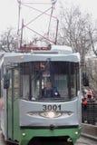Moskwa Tramwajowy wakacje 2016 Zdjęcia Royalty Free