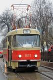 Moskwa Tramwajowy wakacje 2016 Zdjęcie Royalty Free