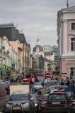 Moskwa ulicy scena Zdjęcie Stock
