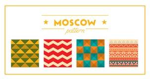 Moskwa wzór Obrazy Stock