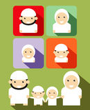 Moslem Family Royalty Free Stock Photos