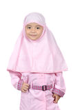 Moslem little girl Royalty Free Stock Photography
