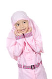 Moslem little girl Stock Photo
