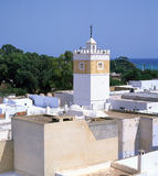 Moslem minaret Stock Images
