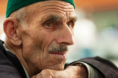 Moslem old man Stock Image