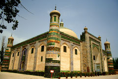 Moslem tomb in central asia Stock Photography