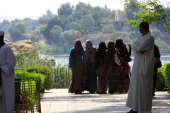 Moslem women Royalty Free Stock Photos