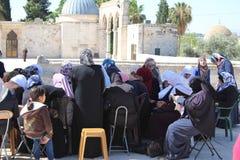 Moslemische betende Frauen Lizenzfreies Stockfoto