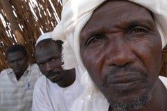 Moslemische Führer in Darfur Stockbilder