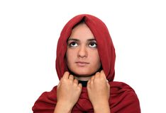 Moslemische Frau Stockfoto