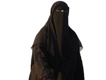 Moslemische Frau Stockfotos