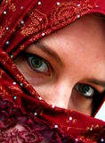 Moslemische Frau Lizenzfreies Stockfoto