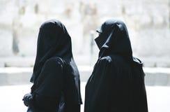 Moslemische Frauen Stockfotografie