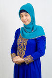 Moslemische Frauen stockfotos