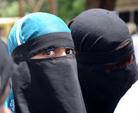 Moslemische Frauen Stockbilder