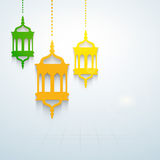 Moslemische Gemeinschaftsheiliger Monat von Ramadan Kareem. Lizenzfreie Stockfotos