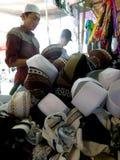 Moslemische Hüte stockfoto