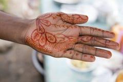 Moslemische Hand Lizenzfreies Stockfoto