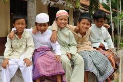 Moslemische Kinder Stockfotografie