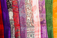 Moslemische Kopftuchfarbe Stockbilder