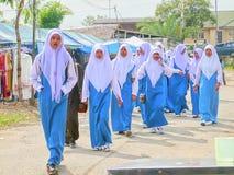 Moslemische Mädchen Lizenzfreies Stockfoto