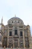 Moslemische Moschee des weißen Steins Stockfoto