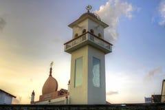 Moslemische Moschee in Singapur stockfotografie