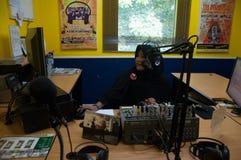 Moslemische Rundfunkstation Stockfotografie