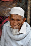 Moslemischer Mann in Bangalore, Indien 15. Juli 2010 Lizenzfreie Stockfotografie