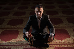 Moslemisches Beten Lizenzfreie Stockbilder
