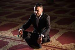 Moslemisches Beten Stockfotografie