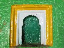 Moslemisches Fenster lizenzfreie stockfotos