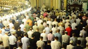 Moslemisches Gebet stock video