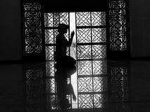 Moslemisches Gebet lizenzfreies stockbild