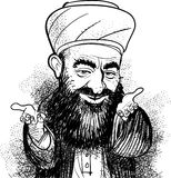 Moslemisches hodja Lizenzfreie Stockbilder