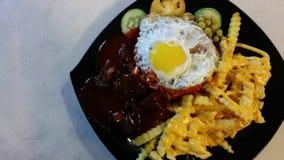 Moslemisches Lebensmittel Stockfotografie