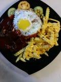 Moslemisches Lebensmittel Lizenzfreie Stockfotografie