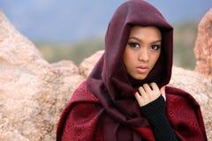 Moslemisches Mädchen Stockbilder